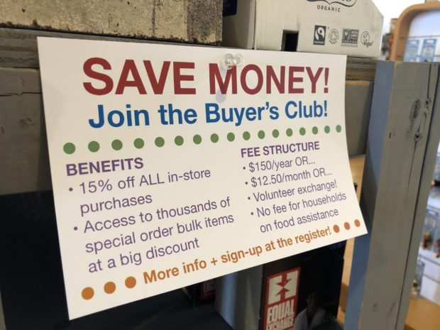 Join the Buyer's Club!